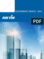 Singapore Government Grants 2013
