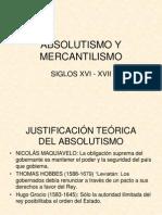 Absolutismo y Mercantilismo