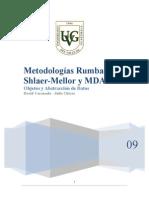 Metodologías Rumbaugh, Shlaer-Mellor y MDA