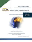 Teorias Contemporaneas en Educacion