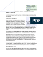 Discussion paper o Conflict and Development Finance