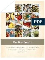 The Best Source (Cookbook Proposal)