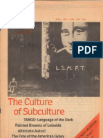 Craft International - The Culture of Subculture 1987