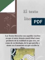 El Texto Literario
