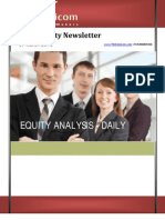 Equity news letter 7March2013