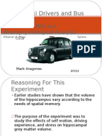 Presentation on London Taxi & Bus Drivers