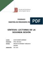 SÍNTESIS DE LECTURAS SESIÓN 2