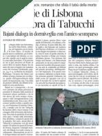 Paolo Di Stefano Per Le Vie Di Lisbona Nell'Ombra Di Tabucchi