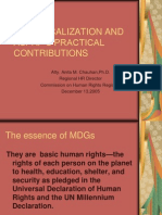 MDG LOCALIZATION AND ASPAP'S PRACTICAL CONTRIBUTIONS