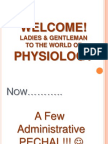 General Physiology