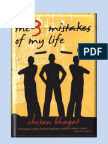 Chetan Bhagat Novel 3-3 Mistakes of Life