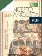 40257355 Soren Kierkegaard El Concepto de La Angustia