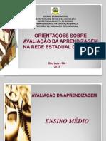 FORMAÇÃO ANEXO SÃO CRISTOVÃO E. MÉDIO