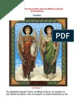 Acatistul Sf.arhangheli Mihail Si Gavril