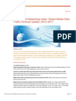 Cisco Global Mobile Data Traffic Forecast Update 2012 - 2017