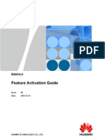 RAN14.0 Feature Activation Guide