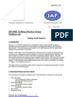 How to Write Audit Reports