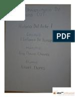 Ensayo Historia Del Arte