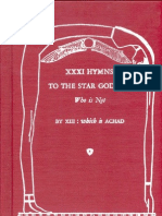 XXXI Hymns to the Star Goddess