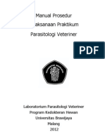01300 05120 MP Praktikum Parasitologi Veteriner