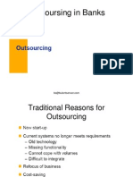 Outsourcing in Banks