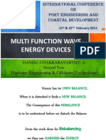 Multi Function Wave Energy Devices