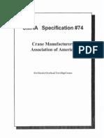 CMAA Specification 74 2000