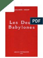 Les Deux Babylones - Alexander Hislop