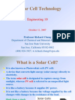 Solar Cell Technology