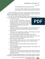 Komponen Pembentuk Manajemen Strategi