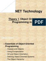 Object Oriented Programming in C#