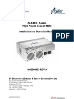 ALB180 - Series C-Band BUCs - Installation and Operational Manual