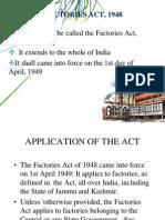 Factories Act1948
