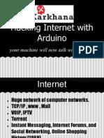 Arduino Internnet