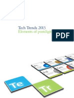 Tech Trends 2013 - Elements of postdigital