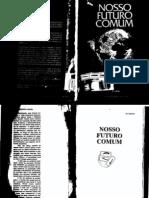 Relatório Brundtland - Nosso Futuro Comum - Em Português