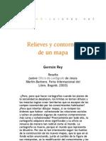 Relieves y contornos de un mapa - Reseña de G. Rey