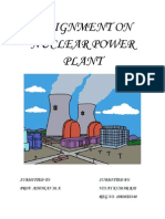 Assignment on Nuclear Power Plant
