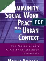 Melvin Delgado-Community Social work Practice