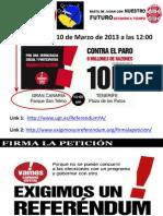 FSP UGT INFORMA Manifestación 10 de Marzo