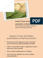 Impact of  Yarn and Fabric Parameters on clothing comfort .pdf
