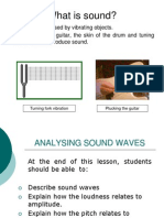 Sound Waves Slide