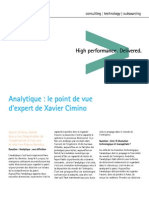 Accenture Analytique Point Vue Expert Xavier Cimino Video Transcript