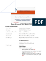 Tugas Kelompok Teknik Kompilasi_Dosen Nahot Frastian S Kom