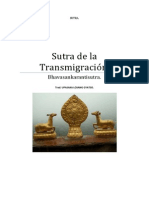 Sutra de la Transmigración (Bhavasankarantisutra)