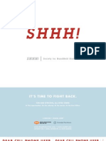 Shhh! | Society for HandHeld Hushing