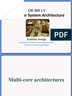 Multi-core architectures