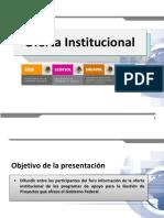 1.Oferta Institucional