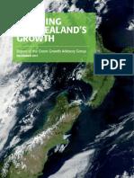 Greening New Zealands Growth