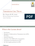 Lecture 2_Transmission Line Theory(Part1)